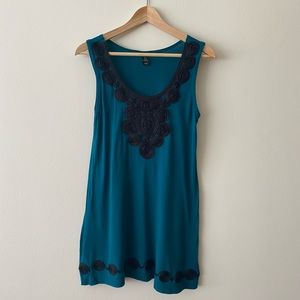 Tunic with embroidered details from H&M